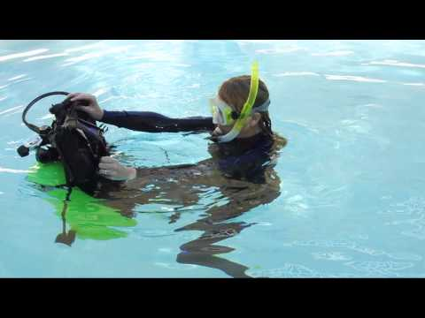 Scuba Skill - BC Removal and Replacement - on the Surface