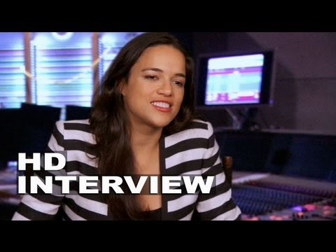 "Turbo: Michelle Rodriguez ""Paz"" Interview"