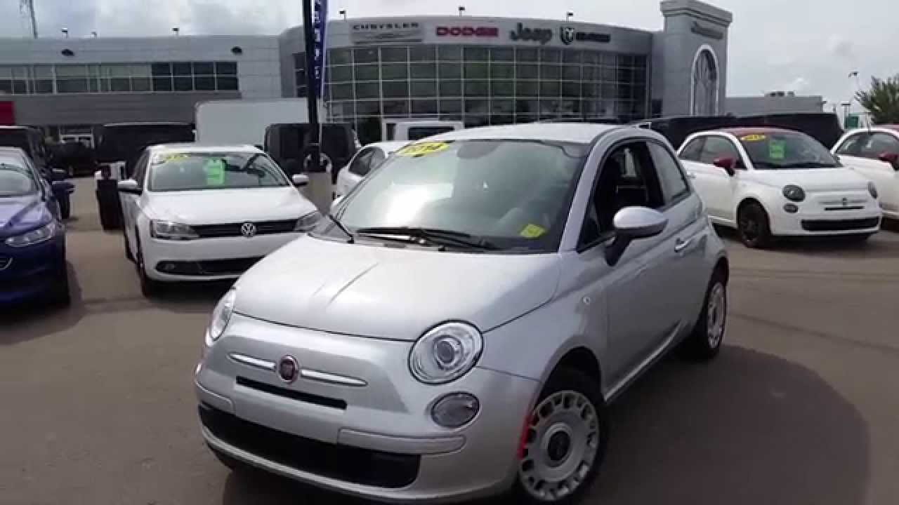 2014 Fiat 500 Pop 2 Door Car Hatchback Crosstown Auto