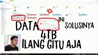 Atasi Harddisk Raw Yang Gak Bisa Dibuka - How To Recover Data Raw Without Format