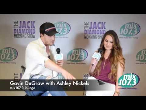 Interview: Gavin DeGraw - Fashion Advice | Ashley Nickels | mix107.3
