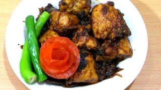 Chicken Dry Recipe - Every Bachelor's Favourite (easy & Tasty)