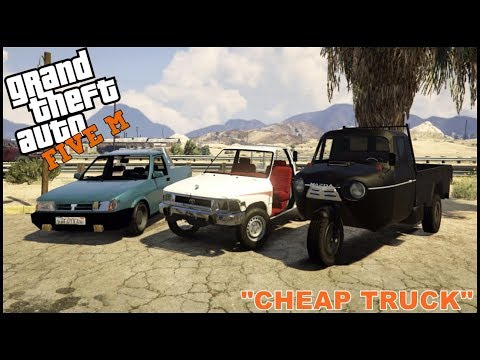 GTA 5 ROLEPLAY - CHEAP TRUCK CHALLENGE - EP. 114 - CIV