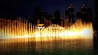 dubai dancing fountain arabic song