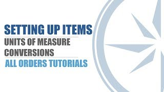 Unit of Measure Conversion - All Orders - QuickBooks Inventory