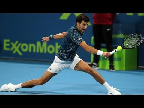 Shapovalov Djokovic Paris 2019