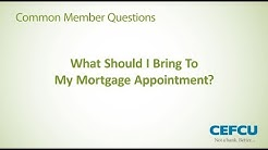 CEFCU Mortgage Appointment
