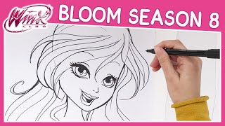 Winx Club - Season 8 - How to Draw Bloom [TUTORIAL]