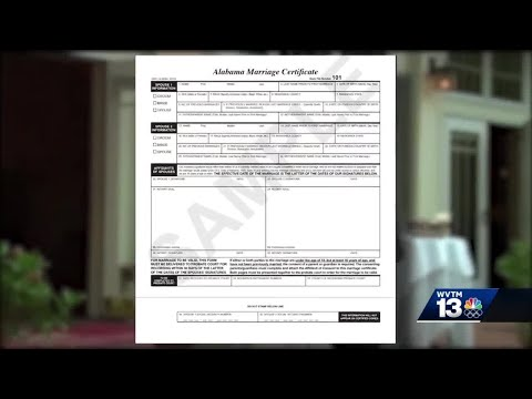 Changes Coming August 29 To Alabama's Marriage License Process