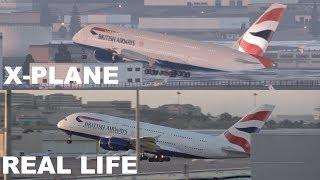 X Plane 11 VS Real Life