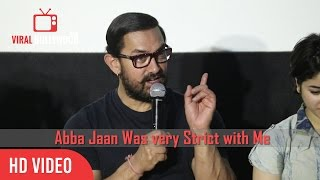 My Abbu Jaan Was Very Strict | Haanikaarak Bapu Song Launch | Dangal New Song