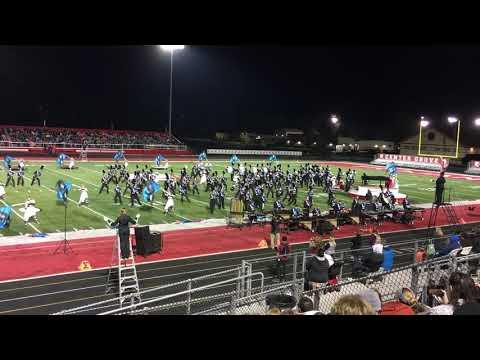 Whiteland Community High School Marching Warriors - 2018 Regionals - October 13, 2018