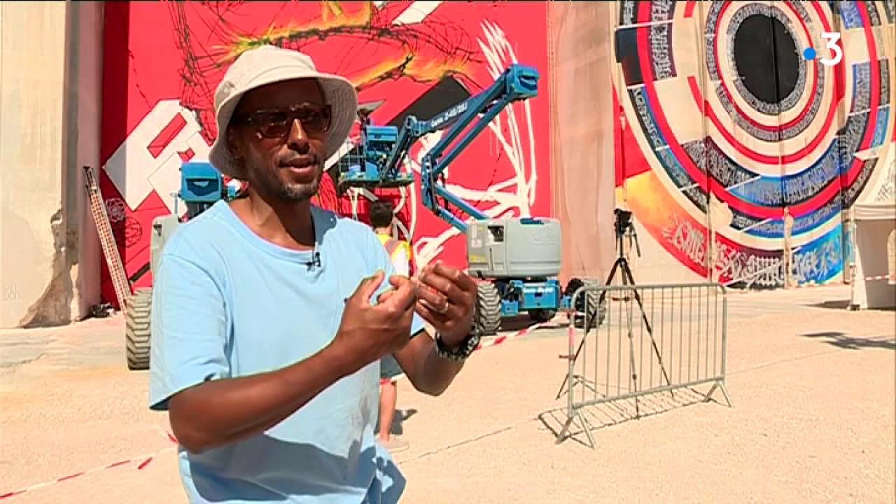 Festival Street Art on The Roc : les grapheurs viennent du monde entier