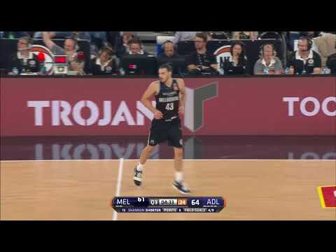 Melbourne United vs. Adelaide 36ers  Game Highlights