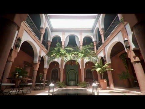 Moroccan Courtyard UE4