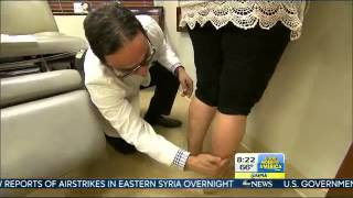 Dr. David Amron Performs Calf and Ankle Liposuction for ABC's Good Morning America Thumbnail