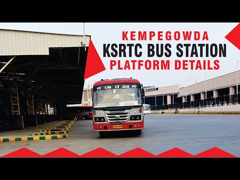 KSRTC Bus Terminal Majestic, Bengaluru | Passengers Your Attention Please