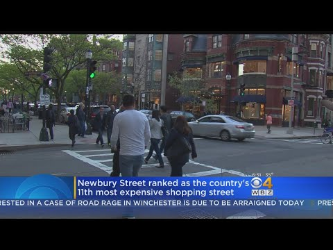 Newbury Street Ranked Among America's Most Expensive Shopping Streets
