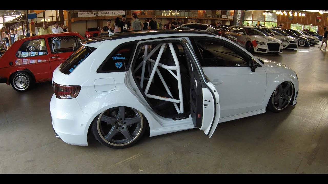 audi a3 sportback s line lowered tuning show car s3. Black Bedroom Furniture Sets. Home Design Ideas