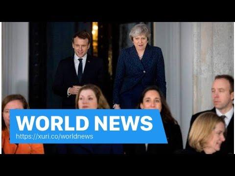 World News - Theresa May glorify France will lend Uk Tapestry Bayeux