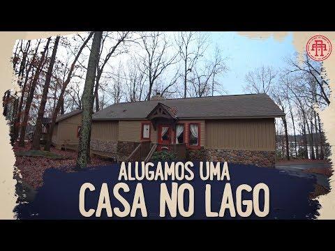 ALUGAMOS UMA CASA NO LAGO