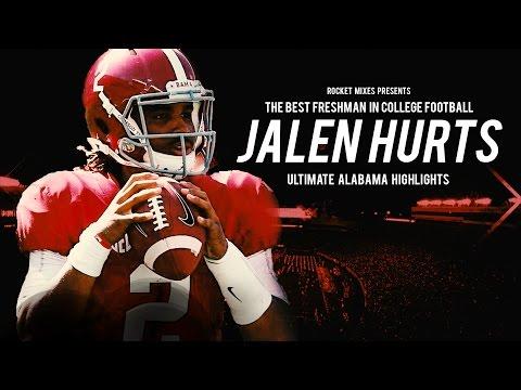 The Best Freshman in College Football - Jalen Hurts Alabama Highlights