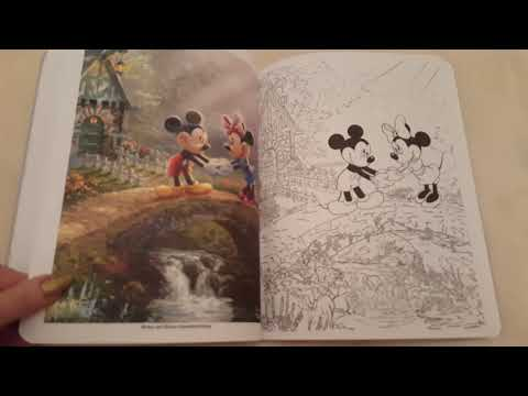 disney-dreams-collection:-thomas-kinkade-studios-coloring-book