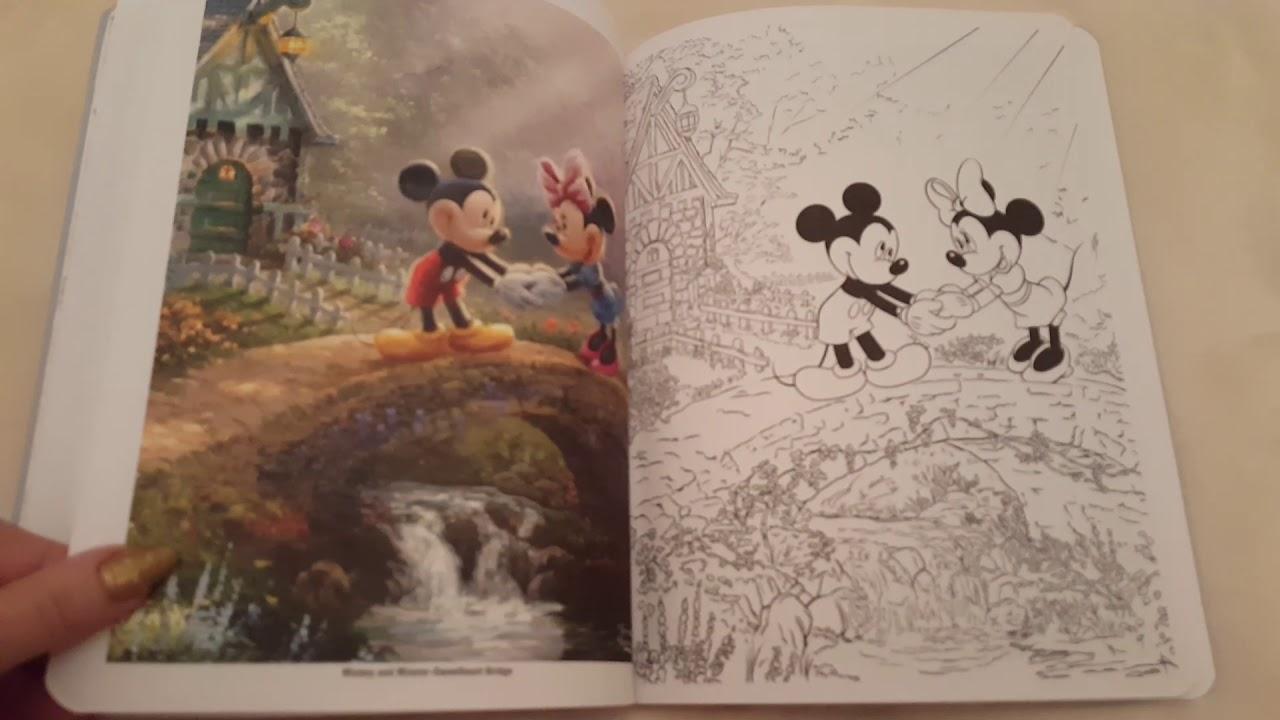 - Disney Dreams Collection: Thomas Kinkade Studios Coloring Book