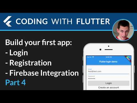 Flutter & Firebase Auth 04 - Overview of root & home page + Refactor Firebase authentication code