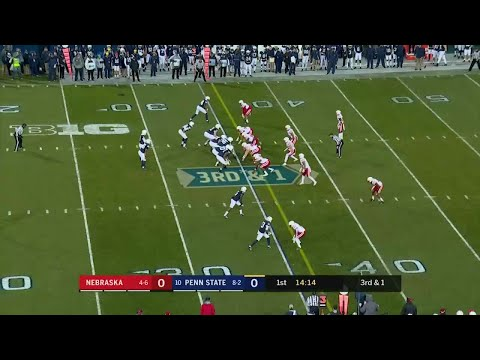 Saquon Barkley 65-YD TD vs. Nebraska