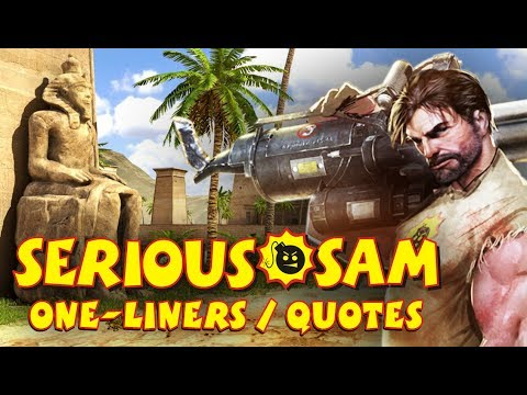 Serious Sam - Every Quote & One-Liner ( 2000 - 2012 )