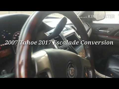 2017 ESCALADE CONVERSION 2007 TAHOE 4sale