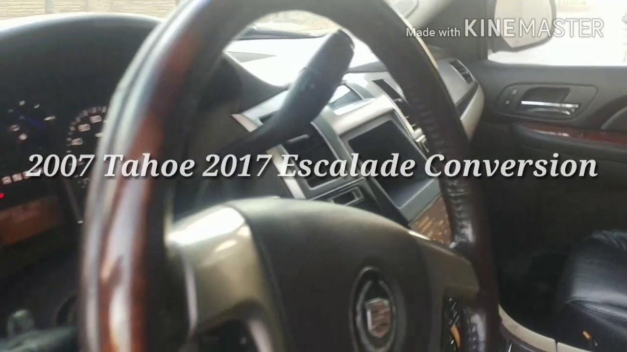 2017 ESCALADE CONVERSION 2007 TAHOE 4sale