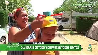 Vacaciones en familia y de camping en Conil, Cádiz, en Andalucía Directo
