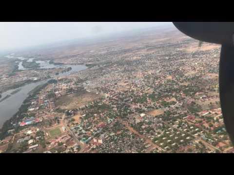Ramblin' Randy: South Sudan - Takeoff Over Juba
