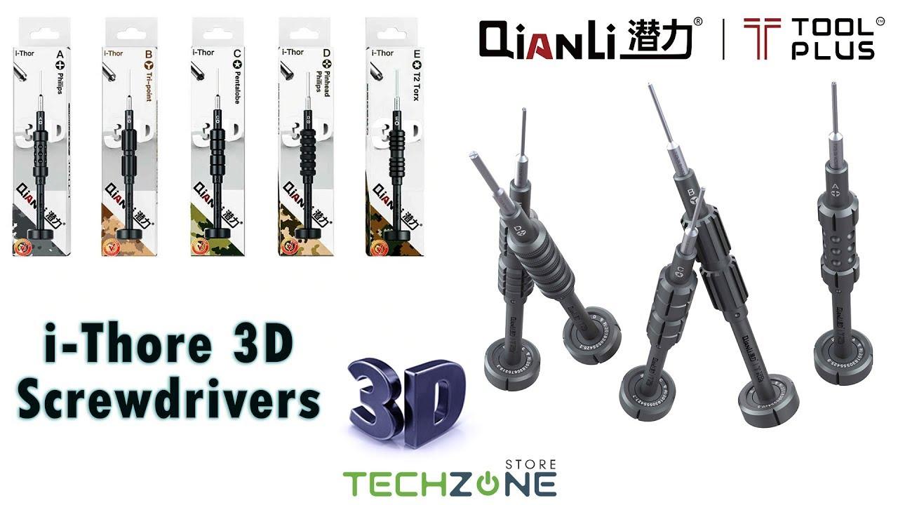Philips Crosshead PH000 1.5mm QianLi ToolPlus iThor Screwdriver A