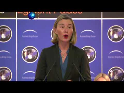 Federica Mogherini at 10th Conference on European Space