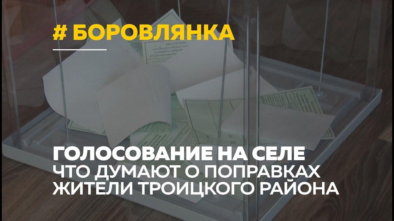 Голосование на селе: жители Боровлянки о голосовании по поправкам в Конституцию
