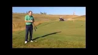 Урок по гольфу № 4 - Чиппинг (Теория, выбор клюшки, брейк, упражнение)