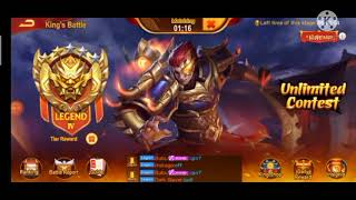 Dynasty Heroes - #17 K.Battle Div 12 UPPER HAND PREVIEW BATTLE (COUNTER ZISHANG WITH XD & SHUI JING)