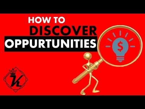 How to discover business opportunities