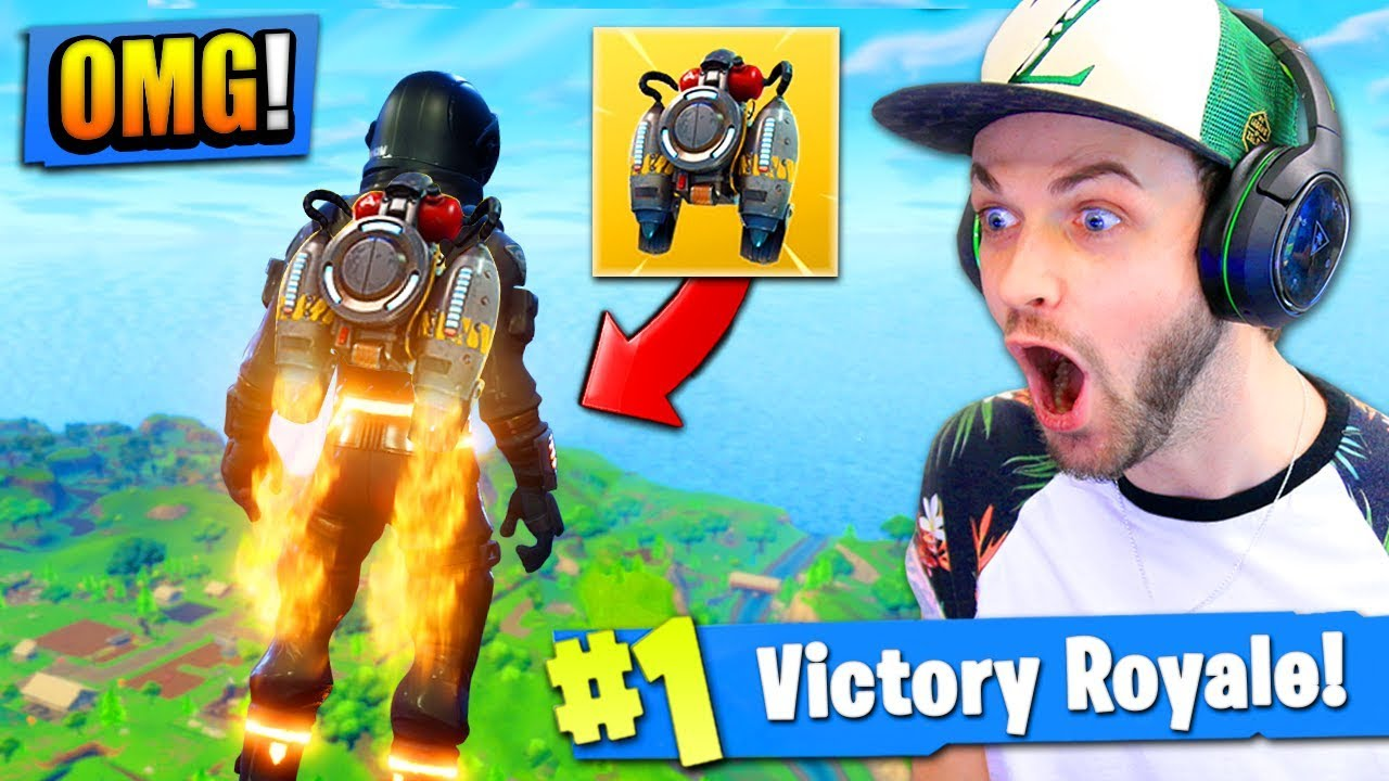 Ali A Fortnite jetpacks are coming to fortnite: battle royale! (seriously)
