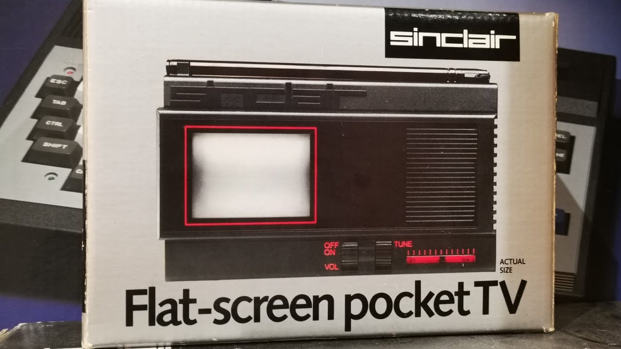 Waffle - Tattoos, Acorn a3010, Sinclair Flat Screen Pocket TV unboxing and tour