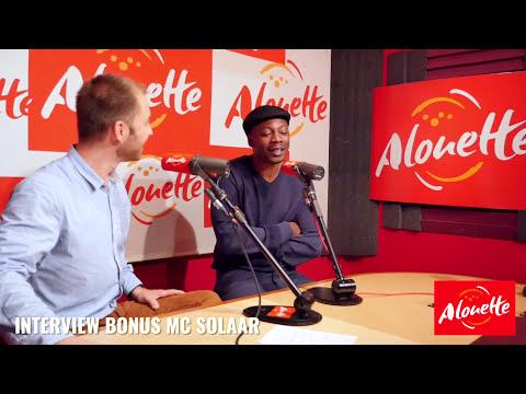 Interview Bonus Mc Solaar -  14 novembre 2017