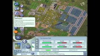 Sim City 4 Game Box