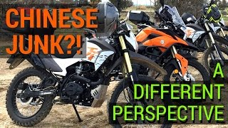 Chinese Junk?! - A Different Perspective On Chinese Dual Sport And Adv Motorcycl