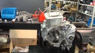 Motor Titan 150    Montagem passo a passo Cássio mecânico