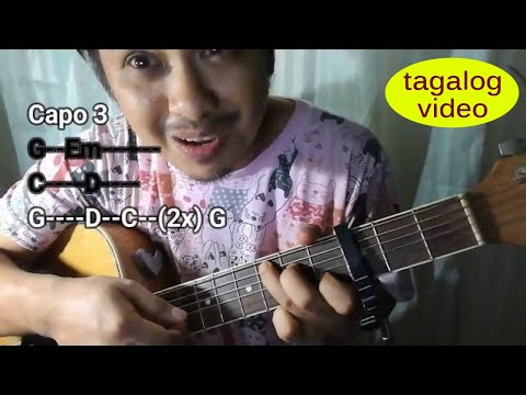 Guitar tutorial: God Gave Me You chords (w/ intro) - Alden Richards version