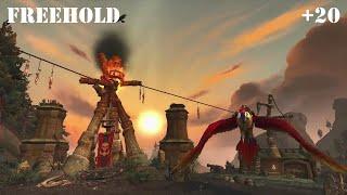 WoW: Battle for Azeroth - Freehold (Mythic) +20 - Havoc Demon Hunter PoV