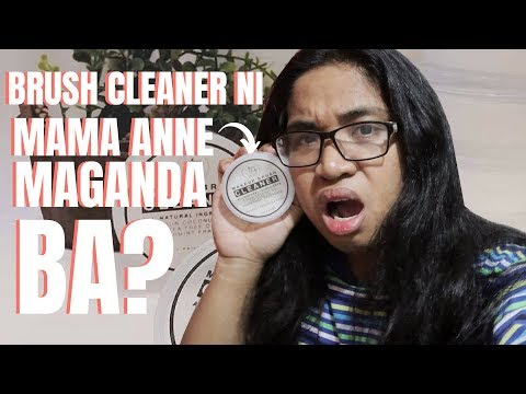 ANNE CLUTZ BRUSHES MAKEUP BRUSH CLEANER REVIEW! BAGO ULIT? SULIT BA? | Steven Nico